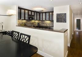 wall for kitchen ideas half wall breakfast bar kitchen traditional with cabinet