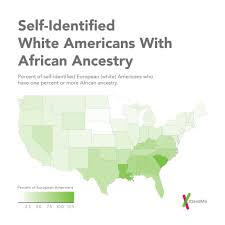 Study United States Map by 23andme Study Sketches Genetic Portrait Of The Us