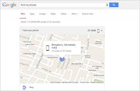 find my android how to track the location of android device using