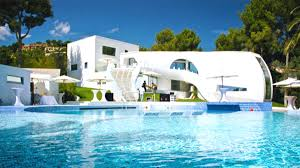 some very cool pools architecture beautiful houses with