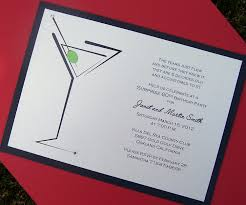 martini invitation cocktail pary invitation birthday party