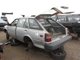 1982 Corolla Wagon Junkyard Find 1982 Nissan Sentra Station Wagon The Truth About Cars