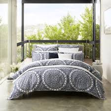 ezra navy duvet cover set by private collection commercial supplies