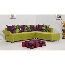 Lime Green Sofa by Sofas Center P4570 1n Sectional Sofa Abby W Ottoman For Sale