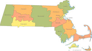 map of massachusetts counties map of massachusetts
