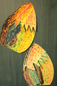 paper dinosaur egg kids craft tutorial