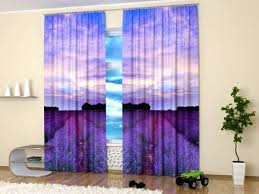 Lavender Window Curtains 15 Window Curtains With Colorful Prints Of Beautiful Flowers