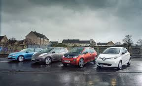 renault nissan plug in babies vw e golf vs nissan leaf vs bmw i3 vs renault zoe