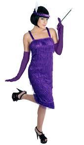 roaring 20 s flapper costume purple plus size fancy dress costume