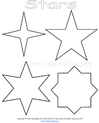 cut out stars template 4 inch star pattern use the printable