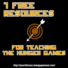 7 free resources for teaching the hunger games teengagement