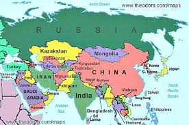 asain map asia geography map southeast asia geography map with of labeled