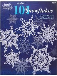 dimensional snowflakes crochet pattern