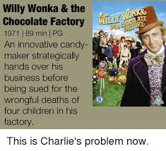 Willy Wonka And The Chocolate Factory Meme - willy wonka the chocolate factory 1971 89 min l pg an innovative