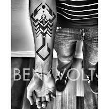 brilliant scorpion tattoo by ben volt tattooing u0026 symbolism