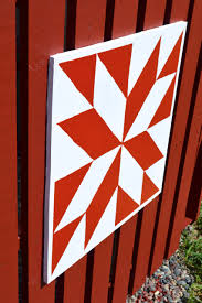 How To Make A Barn Quilt Hiding The A C With A Diy Pallet Fence And Barn Quilts