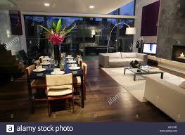 modernist open plan home in hampstead london main reception room