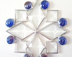glass snowflake etsy