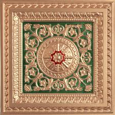 Ornate Ceiling Tiles by Decorative Ceiling Tile 223 Glue Up And Drop In Designer