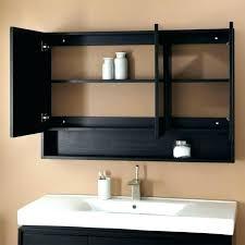 wood framed recessed medicine cabinet black framed medicine cabinet white bathroom medicine cabinet