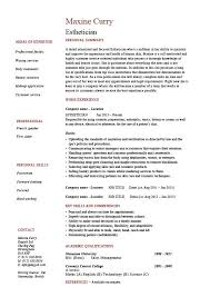 Resume Examples Qualifications by Esthetician Resume Hair Skin Sample Example Job