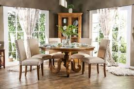 furniture of america olinda formal dining room set