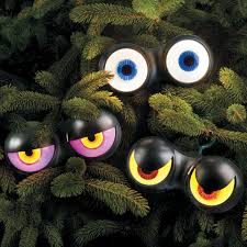 Lighted Halloween Decorations Windows by What U0027s Lurking In The Bushes Outside Place These Flashing Eyes