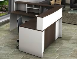 L Shape Reception Desk Ofislite 4 L Shape Reception Desk Suite Set Reviews Wayfair