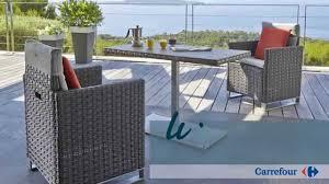 table de jardin haut de gamme ligne rio le mobilier de jardin by carrefour collection 2015