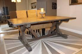 simple diy farmhouse style dining room table tutorial the igf usa