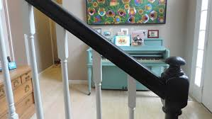 Black Banister Step Up Your Stairs U2014 Susan Yeley Interiors