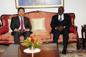 chambre internationale le vice président de la république a reçu en audience le président