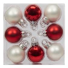 shop for the 24ct mini white ornaments by celebrate it at