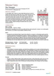Resume For Logistics Executive Bar Manager Job Description Restaurant Manager Job Description