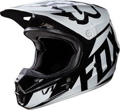 motocross helmet goggles 169 95 fox racing mens v1 race dot approved motocross mx 995620