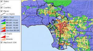 los angeles suburbs map los angeles california community regional demographic economic