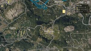 pubg interactive map made with coherent gt playerunknown s battlegrounds