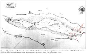 Newfoundland Map Beyond Indian Point History And Archaeology Of The Northeast Arm
