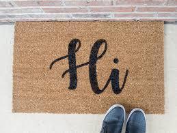hi doormat funny door mat cute doormat welcome mat