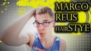 reus hairstyle name marco reus hairstyle tutorial summer haircut youtube