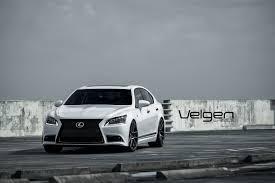 bagged ls460 lexus ls460 f sport velgen wheels vmb5 matte gunmetal 22x9