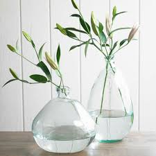 our zen style collection at vivaterra vivaterra recycled glass balloon vases classically clear