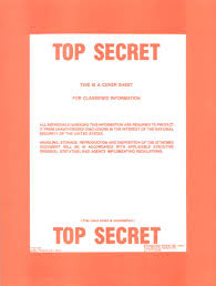 Document Cover Sheet Template by Top Secret Cover Sheet Otb Online Journal Of Politics And