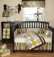 Brown Baby Crib Bedding Colorful And Contemporary Baby Bedding Ideas For Boys