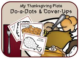 thanksgiving do a dots and cover ups by apple speech tpt