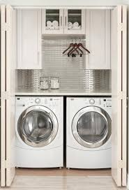 Washer Dryer Enclosure 15 Laundry Spaces That Cleverly Conceal Their Unsightly Appliances