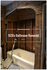 1930s bathroom remodel u2013 part 1 1930s bathroom 1930s and ceiling