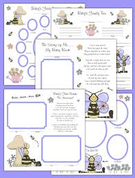 scrapbook pages decamp studios the best selection of nursery bee premade scrapbook pages layout 12x12 album book baby girl