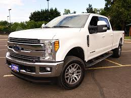Ford Diesel Truck Used - used 2017 ford f350 crew cab diesel lariat ult pkg for sale in