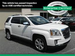 used white gmc terrain for sale edmunds